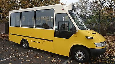 Iveco Daily Iris Bus 65c 15 18 Seater *1 Owner* STUNNING - Remote Ramp