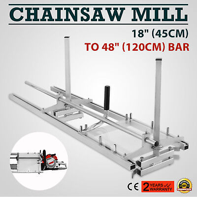 Chainsaw Mill Suits up to a 48''/120cm Bar Wood Cutting Garden Tools Sharpener
