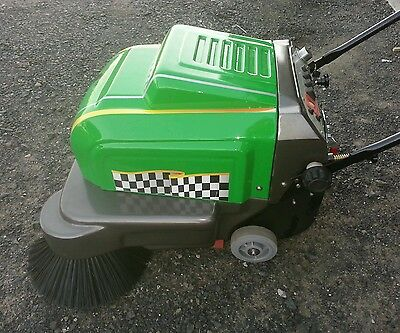 factory floor Sweeper electric .Battery