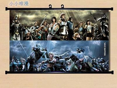 GIFT Japanese Anime Final Fantasy Home Decor Poster Wall Scroll 60*40CM