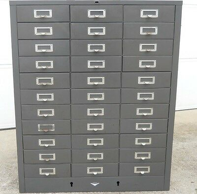 COLE STEEL 33 Drawer - Metal - Parts Storage Cabinet - LOCAL PICK-UP ONLY