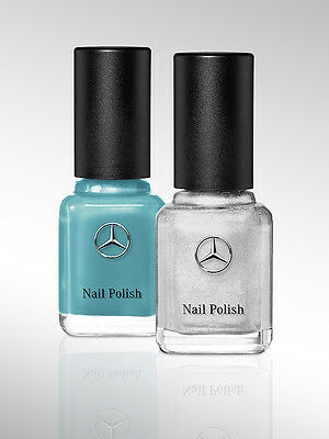 Mercedes Benz F1 Petronas Team Colours Nail Varnish Polish Lewis Hamilton
