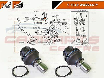 For Nissan Pathfinder R51 2005- Rear Lower Suspension Arm Ball Joint Joints Pair