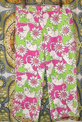 Girls Size 12 White Label Lilly Pulitzer Capris