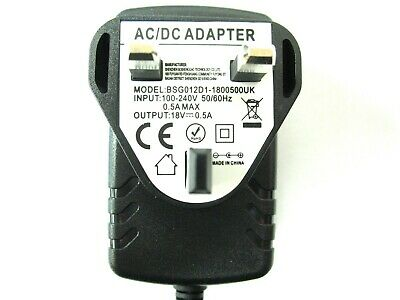 Challenge Xtreme Si-38 Drill 18V Ac/dc Mains Power Adaptor/supply/charger