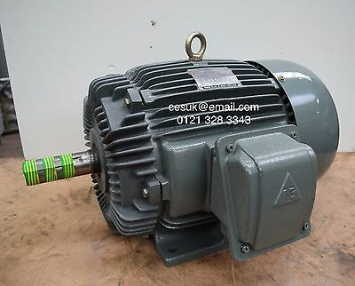 NEW TECO 4kW (5.5HP)  Electric Motor 8-Pole B3 Foot D 160M Frame 3-Phase 710RPM