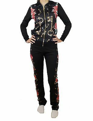 Sale! New Dolce & Gabbana Woman Tracksuit Pants + Hoodie size :  34 / XS