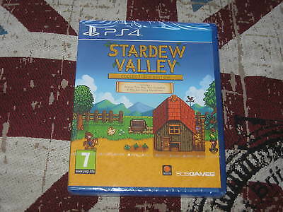 """Ps4 Game """" Stardew Valley Collectors Edition """" Sealed"""