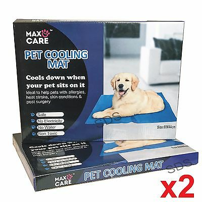 2X New The Pet Shop Cooling Mat For Dogs & Cats purple  Best Gifts
