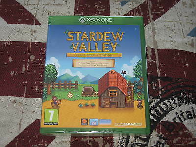 """Xbox One Game """" Stardew Valley Collectors Edition """" Sealed"""
