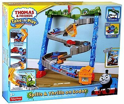 Fisher Price Thomas & Friends Take N Play Spills & Thrills On Sodor Bcx21