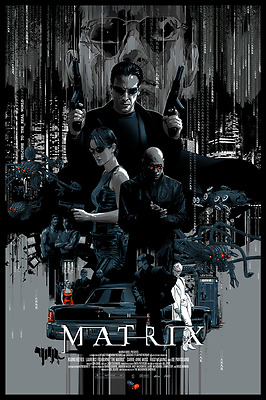 The Matrix Alternative Movie Poster by Mondo Artist Vance Kelly No. /325