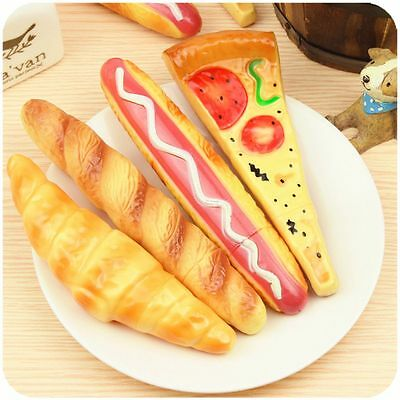 Croissant Hot Dog Baguettes Pizza Ballpoint Pen Fridge Magnet Bread