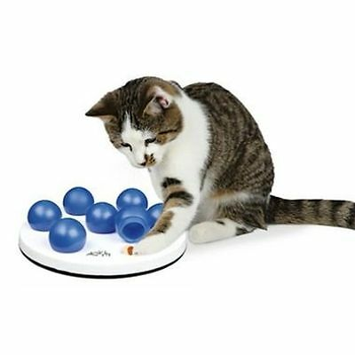 Trixie Cat Activity Solitaire Treat Dispenser Puzzle Game Cat Toy 4954