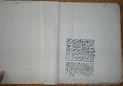 India Very Old Interesting Arabic Manuscript, 64 Leaves- 128 Pages.