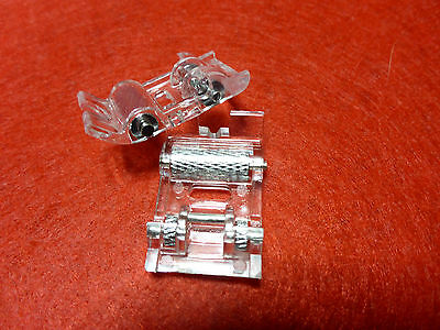 Universal Domestic Sewing Machine Roller Foot Clip on Brother Elna Singer