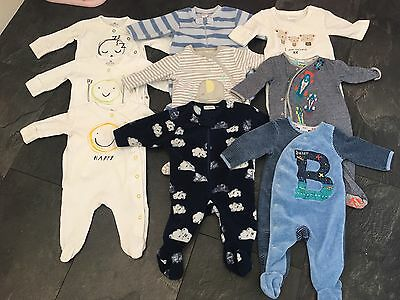 9 Baby Boy Sleepsuits / Romper. 0-3 Months. Next. Ted