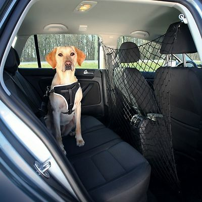 Trixie Car Travel Net for Dog Puppy Safety Fast & Easy Set Up Van Divider 1312