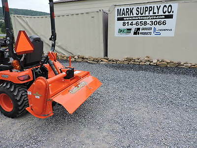 LandPride RTA1250 Roto Rotary Tiller 3 Point Hitch Sub Compact Tractor Kubota BX