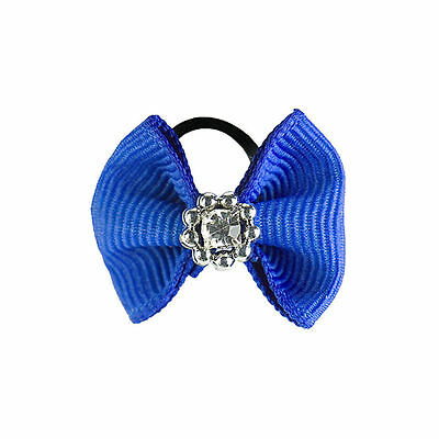 New! Horze Diamante Show Bows for Manes Red/Blue/White/Black