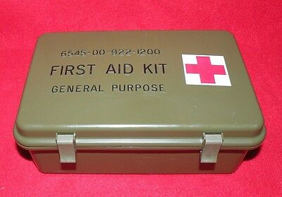 Full Army First Aid Kit General Purpose 6545-00-922-1200 (8262)