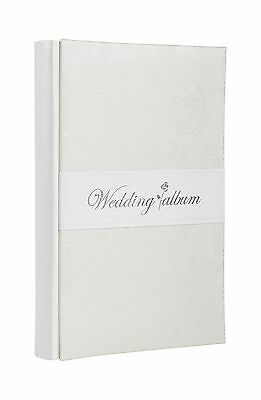 Wedding Photo Album - Holds 300 4x6 Inch Photos - by Monarch Housewares