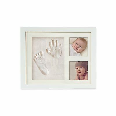 Beautiful Baby Handprint & Footprint Picture Frame Kit For Both Boys and Girl...