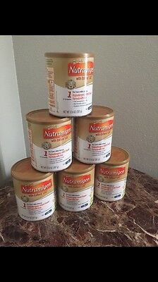 6 Brand New Sealed Nutramigen Cans 12.6oz Cans Wholesale Lot