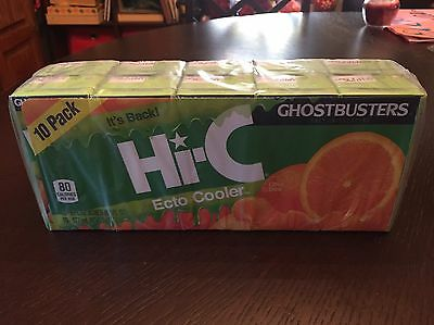 Hi-C Ecto Cooler Drink - Ghostbusters - 6 ounce juice boxes - 10 Pack