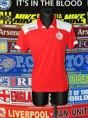 5/5 Shelbourne adults L polo leisure football shirt jersey trikot