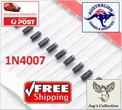 10 / 20 Pcs Rectifier Diode 1N4007 IN4007 1A 1200V AU STOCK [A5M]