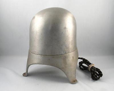 Vintage Electric Aluminum Millinery Hat Mold Form Block Stretcher  Size 21 1/2