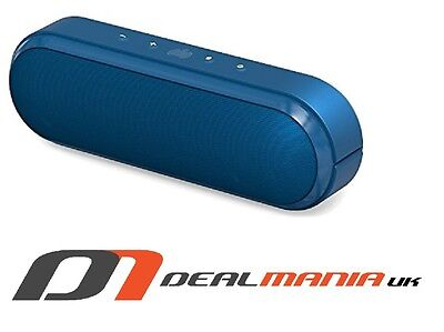 Ministry of Sound Audio S (IPX4) Bluetooth Speaker - Blue/Gun Metal