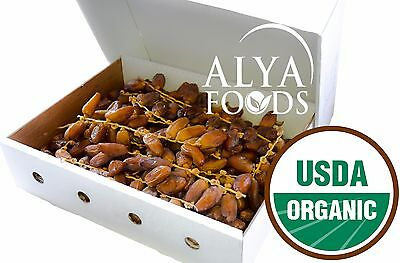 Fresh From Algeria Organic 11 LB Deglet Noor Dates on The Vine (RAMADAN SPECIAL)