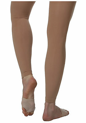 Body Wrappers A33X Suntan Women's Plus Size 3X/4X Footless Tights