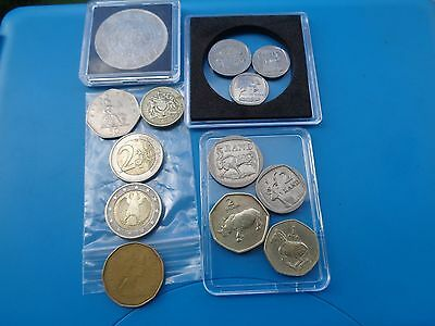 World Coins LOT of 13, SALE $1 EACH Dont miss out