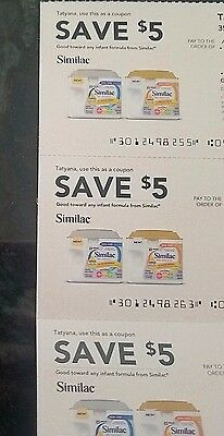 $15 in SIMILAC coupons