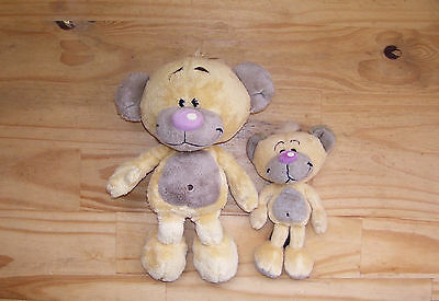 Lot de 2 Peluches Doudou Pimboli
