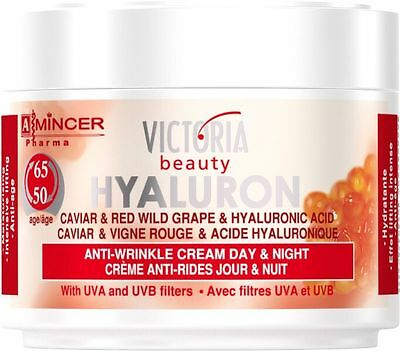 Anti Wrinkle Day Night Face Cream For Mature Skin 50Ml Hyaluronic Acid Caviar