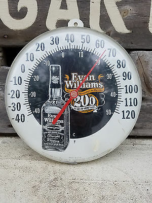 Evan Williams Kentucky Straight Bourbon Whiskey Thermometer Ad Working Alcohol