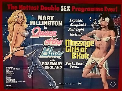 Sex Poster    Original-  Uk  Quad  Cinema Poster.  30X40