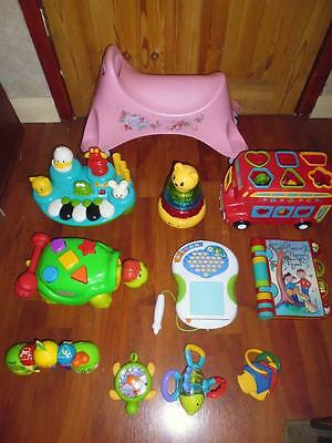 Bundle Quality Baby/Toddler Toys - VTech, Fisher Price, ELC.