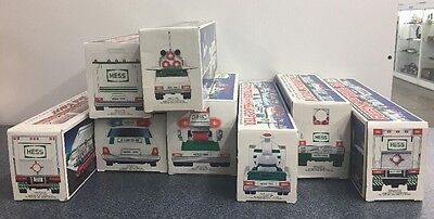 Hess Trucks Collectible 1992 1993 1994 1995 1996 1997 1998 1999 Years With Boxes