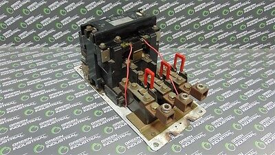 USED Square D 8536SG01 NEMA Size 5 Motor Starter Contactor 120V Coil