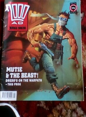 2000AD Featuring Judge Dredd 22nd June 1991, used