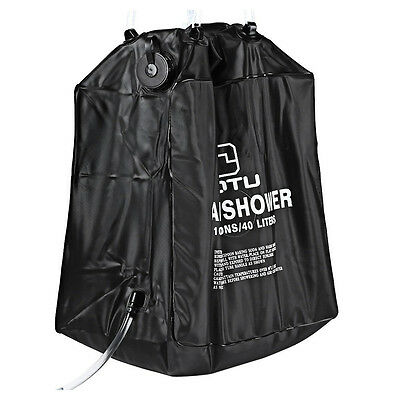 AUTO 40L Solar Camping Shower Bag for Outdoor Camping and Hiking R9K3