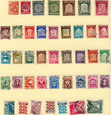 Israel Stamps. x41 as showing in my Image