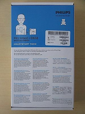 Philips Heartstart FR2 Infant / Child Pads  AED Ref#M3870A