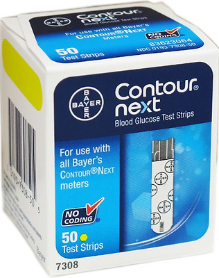 Contour-Next Bayer Blood Glucose New Ultra one touch  100 Test Strips Best Value