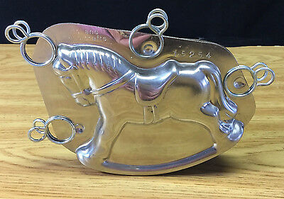 Holland Handicrafts Rocking Horse Chocolate Mold 15254